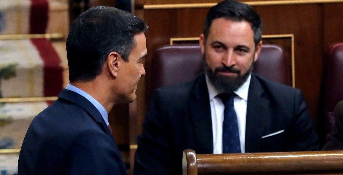Abascal critica a Pedro Sánchez