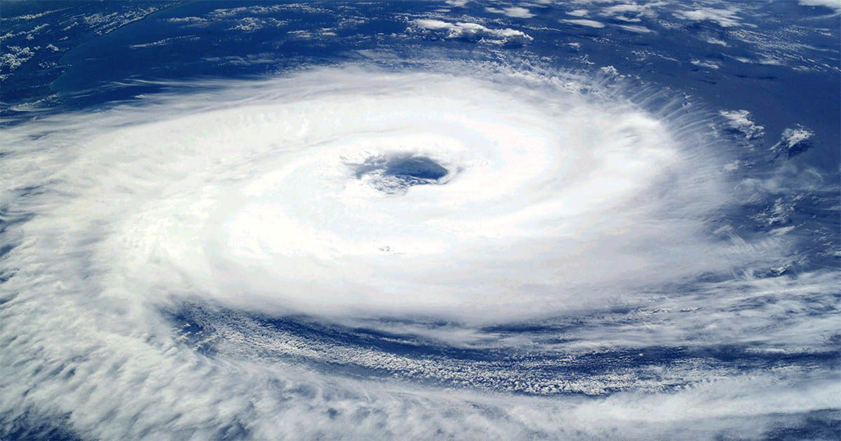 ciclón tropical inundación