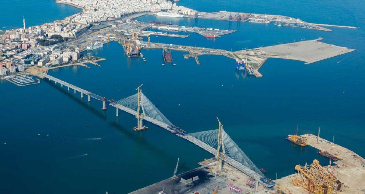 Vista aérea Cádiz