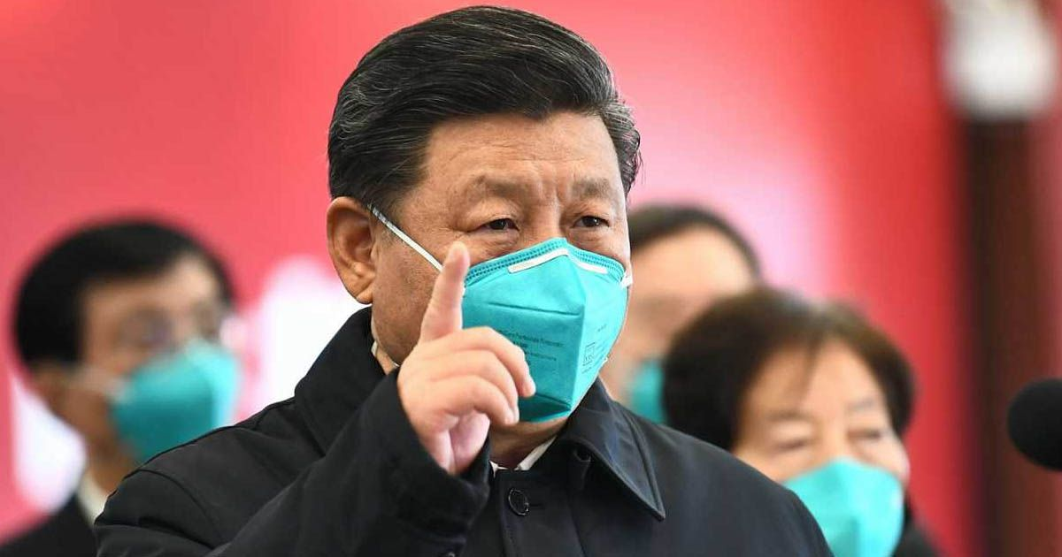 presidente de China Xi Jinping visita la zona cero del coronavirus Navidad