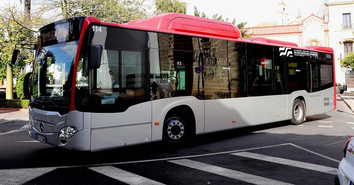 Autobús en Jerez
