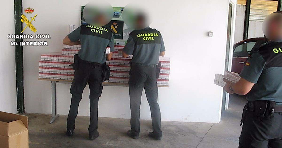 Cajetillas de tabaco de contrabando intervenidas en Córdoba