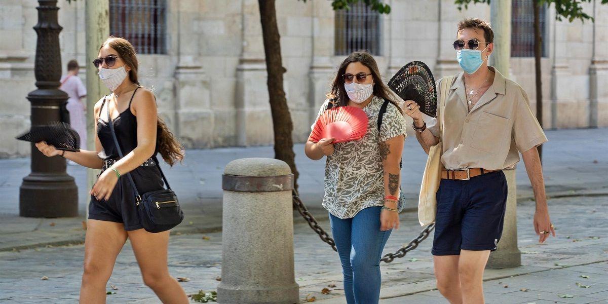multas beber alcohol sin mascarilla Sevilla