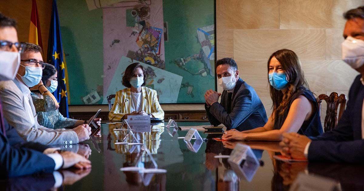 Reunión entre Ciudadanos y el Gobierno | Foto: EP