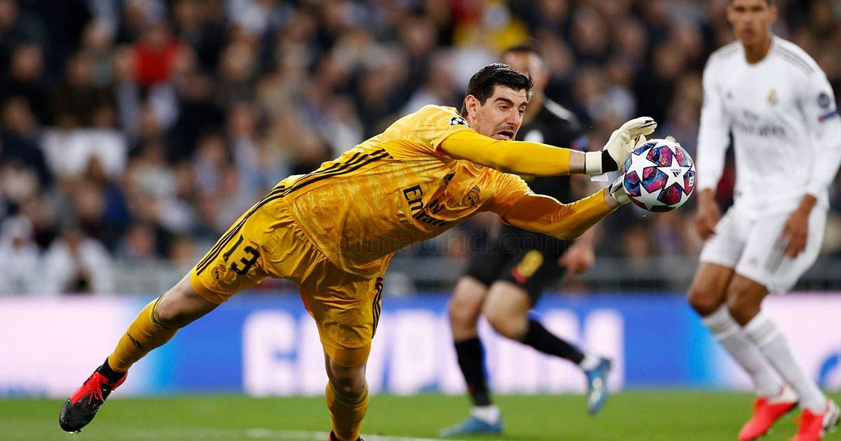 Thibaut Courtois manchester city real madrid