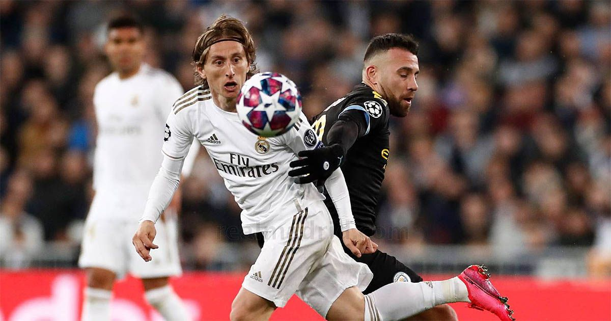 real madrid manchester city luka modric