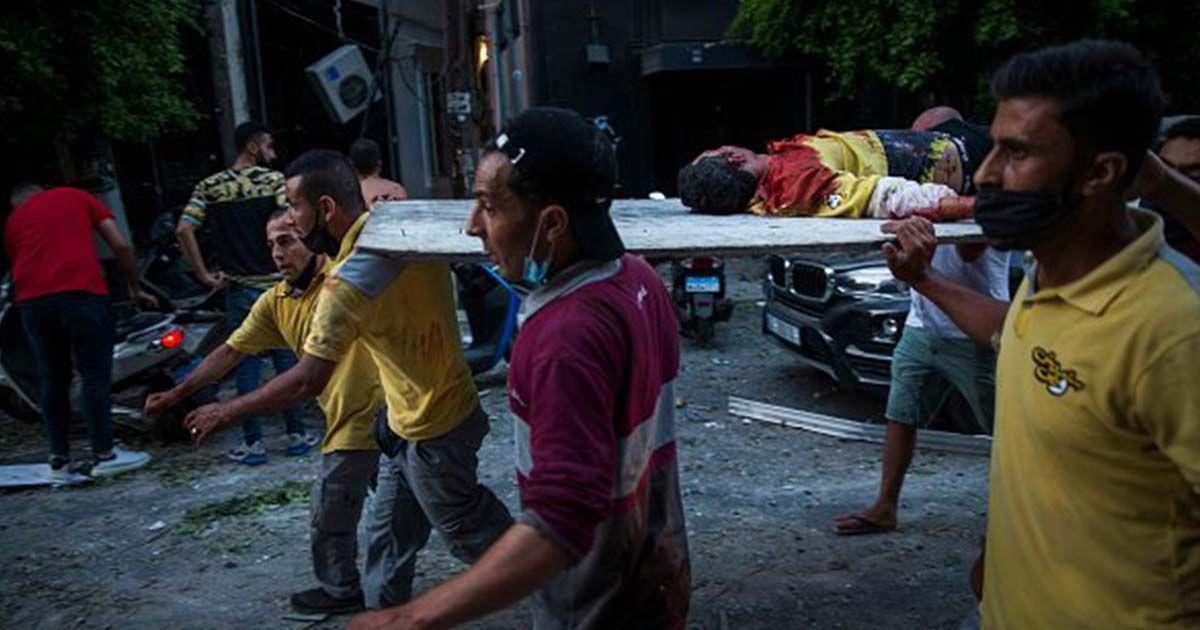 Heridos y muertes en Beirut