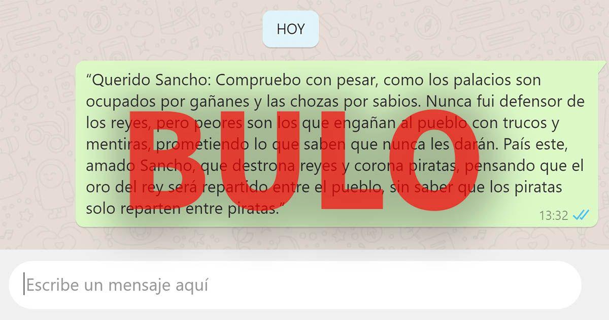 bulo whatsapp quijote sancho