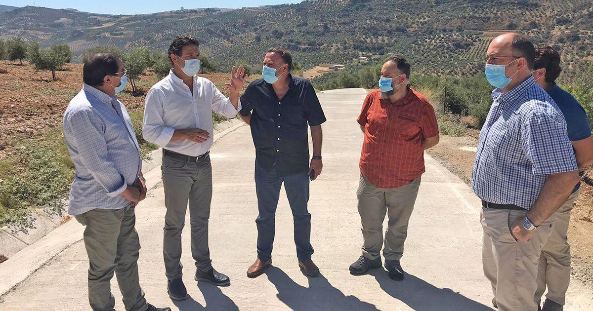 La Junta finaliza los trabajos de mejora del Camino Pelón de las Canteras en Olvera