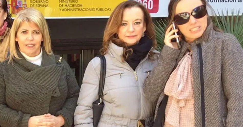 Mamen Sánchez Mila Perez Laura Álvarez