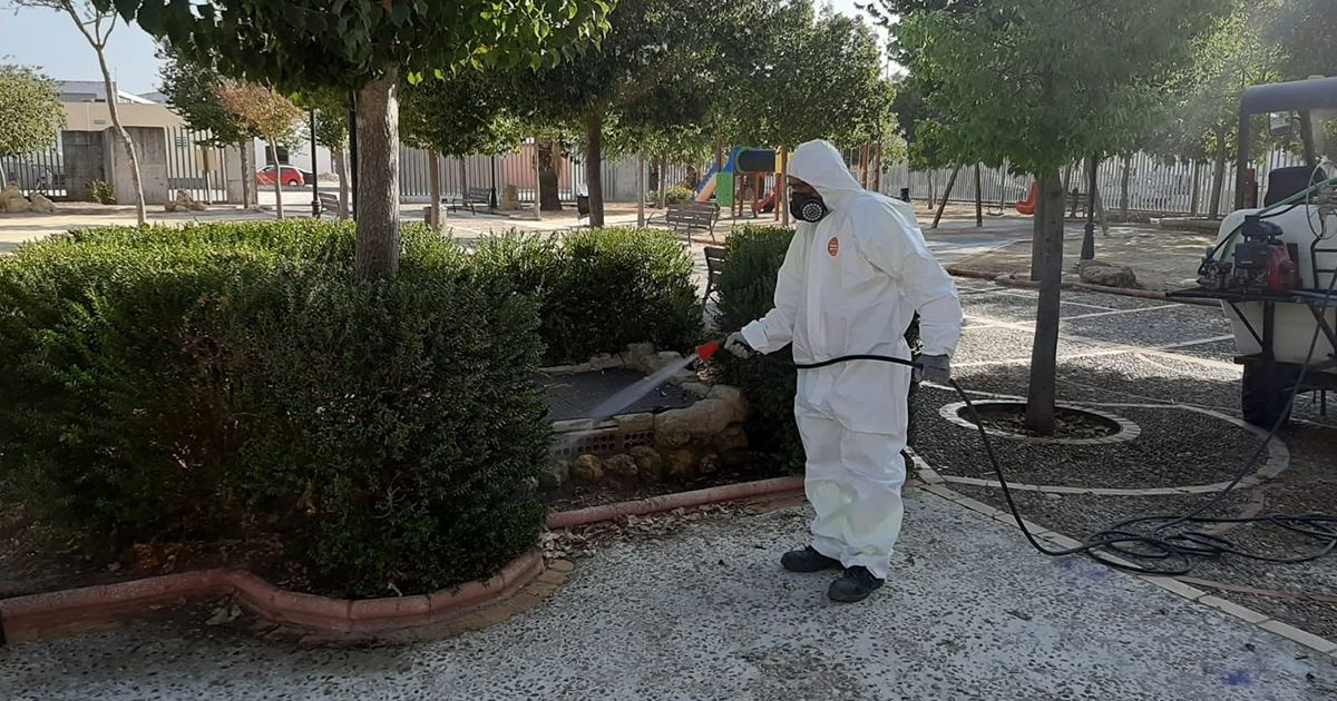 fumigaciones Andalucía virus Nilo