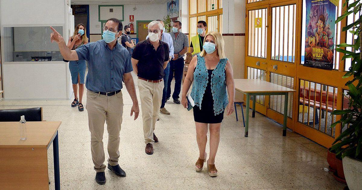 Destinan 306.000 euros a la mejora de centros educativos del Jerez urbano y rural