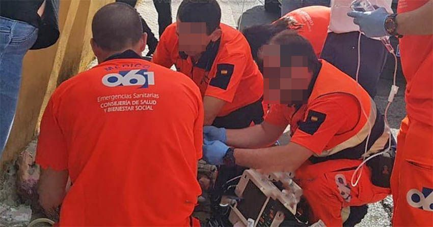 061 ambulancia emergencias sevilla dos hermanas