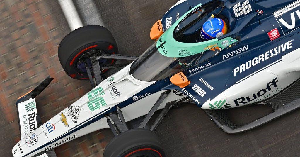 Fernando Alonso en Indianápolis Indy 500