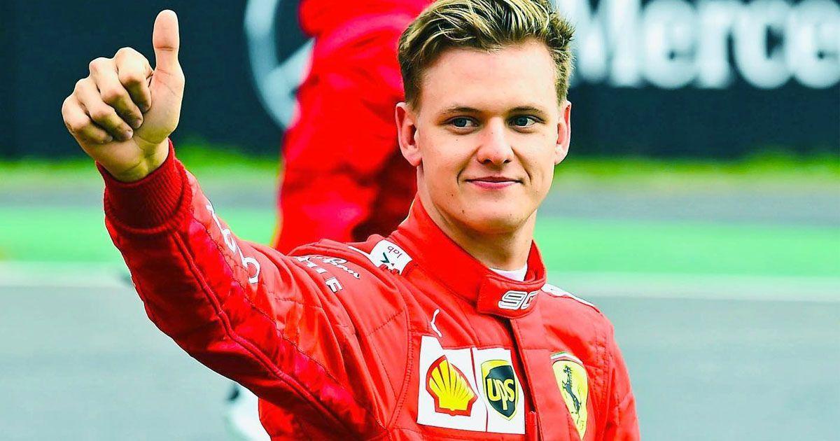 Mick Schumacher ferrari fórmula 1 f-1