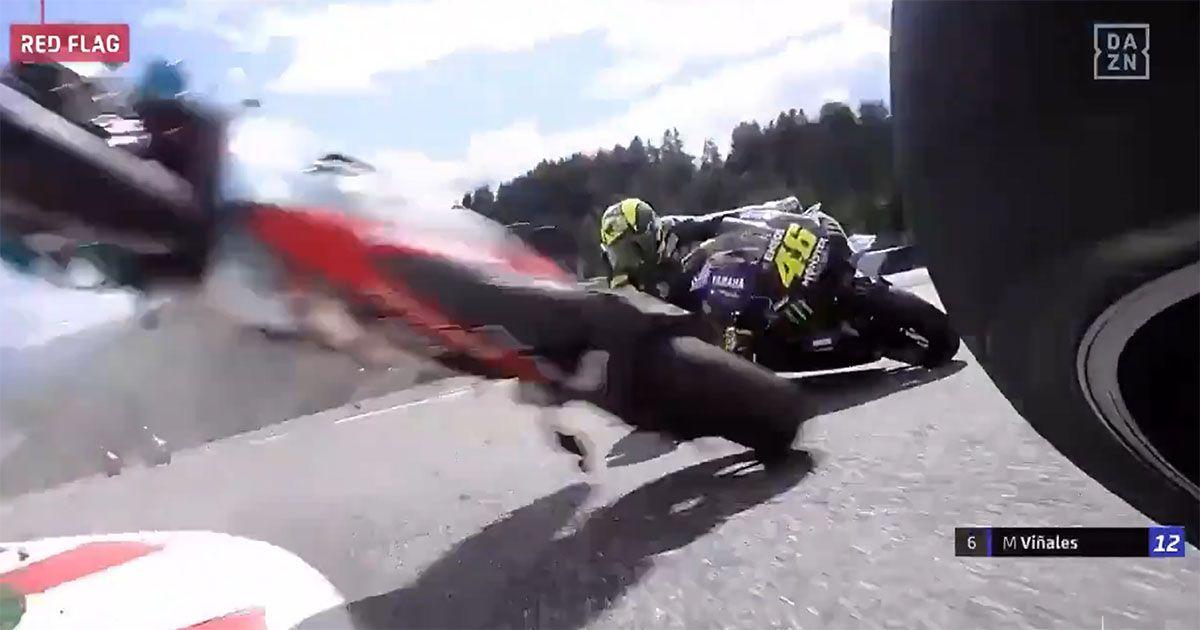 Valentino Rossi y Viñales