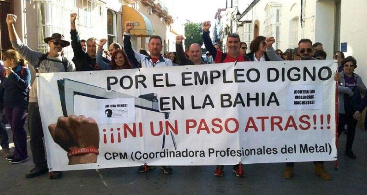 trabajadores metal Cádiz