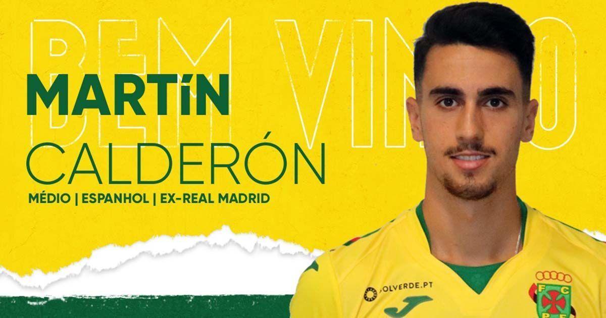 Martín Calderón Paços de Ferreira