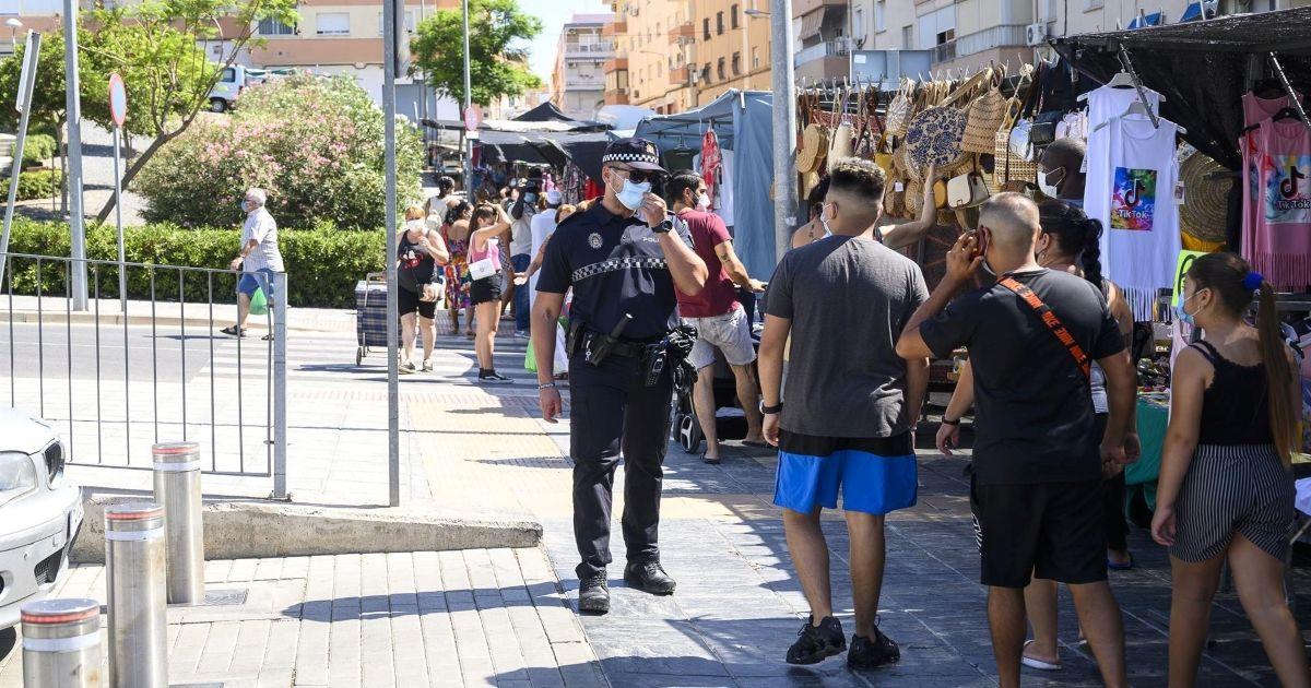 Denuncias anticovid Almería