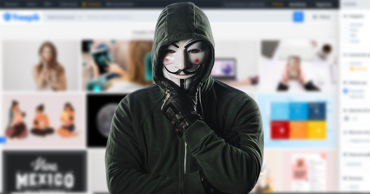 hacker freepik ataque base de datos banco de imágenes fallo de seguridad security breach