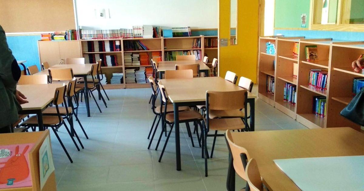 colegio cerrado coronavirus
