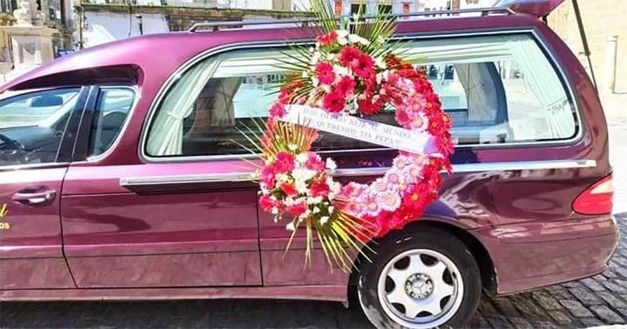 coche funebre tía pepa tia pepa
