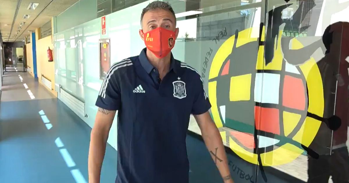La revolucionaria lista de Luis Enrique con la Selección Española