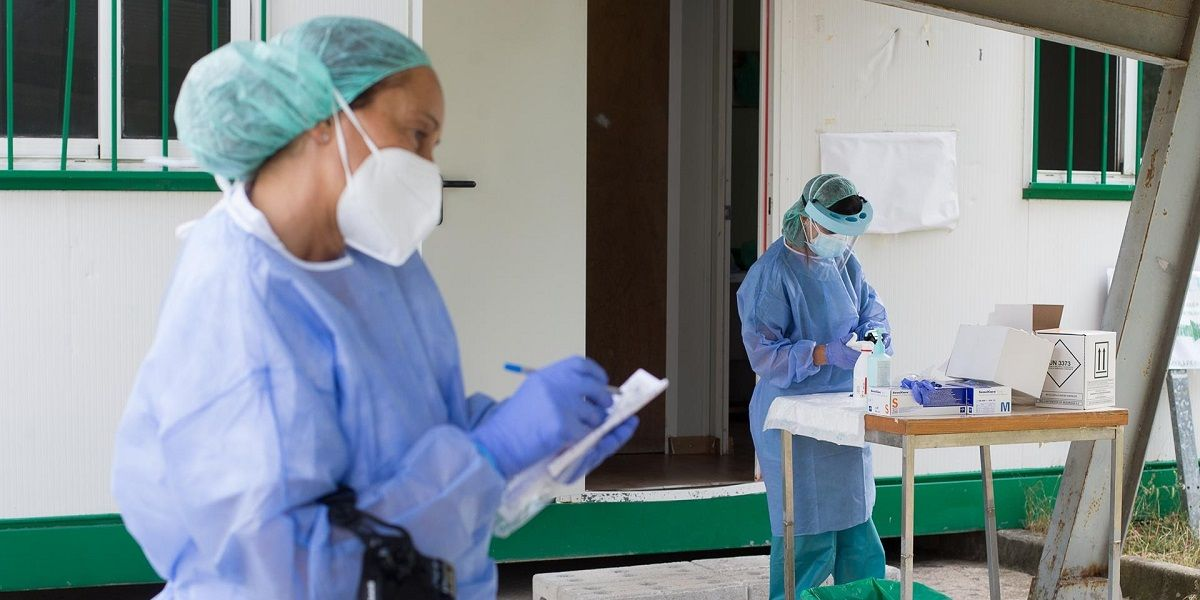 hospitalizados en Andalucía por Covid-19