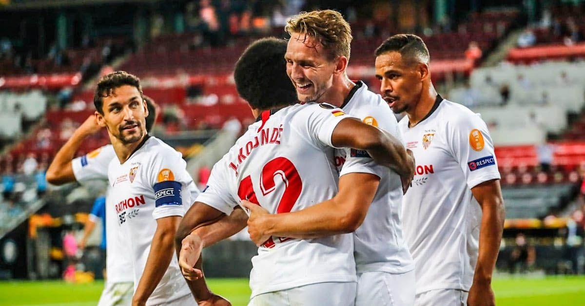 DE JONG SEVILLA FC INTER MILAN EUROPA LEAGUE