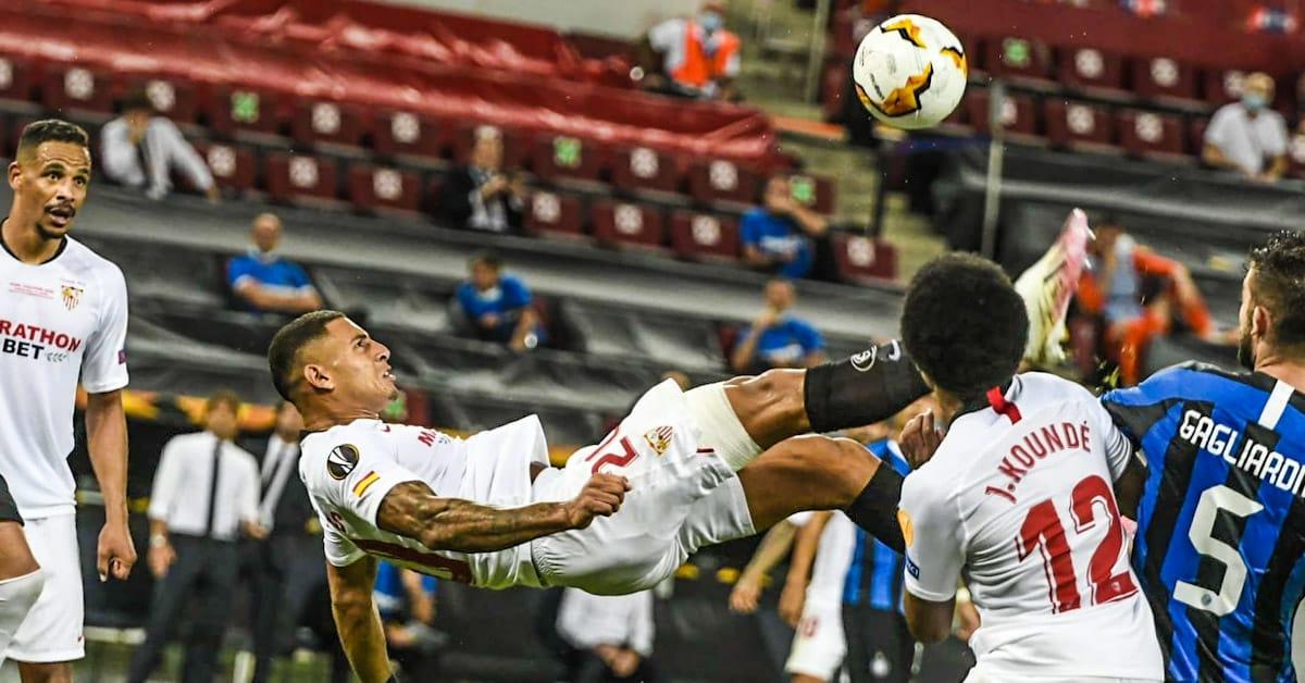 DIEGO CARLOS SEVILLA FC INTER MILAN EUROPA LEAGUE CHILENA