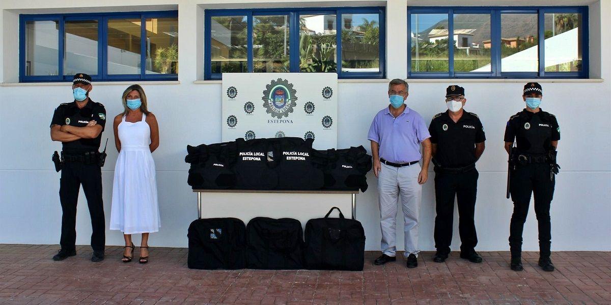 Policía Local Estepona chalecos antibalas