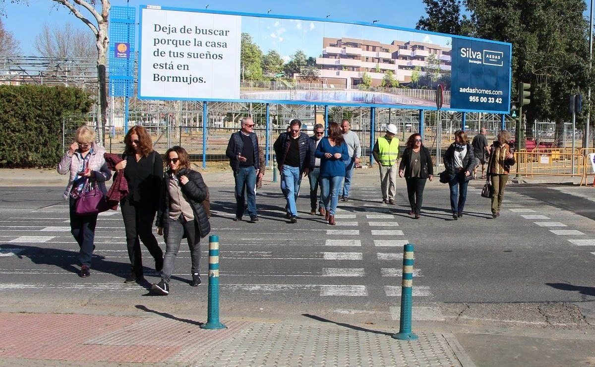 avenida Juan Pablo II Sevilla
