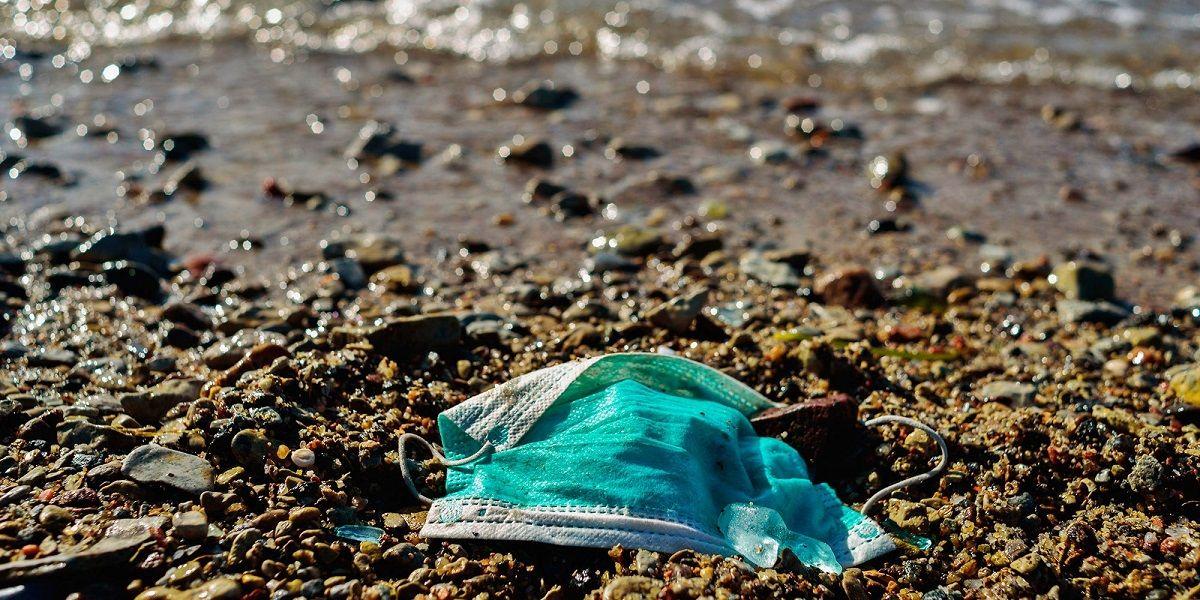 lanzan campaña para que las mascarillas no acaben en el mar