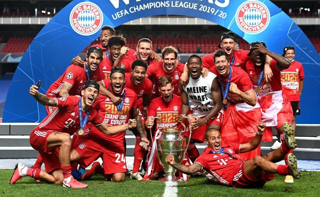 Bayern Munich Campeones Champions League Paris Saint Germain PSG