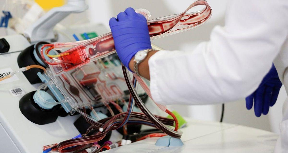 transfusiones plasma Coronavirus