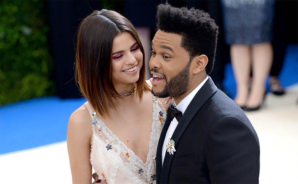 The Weeknd Selena Gómez