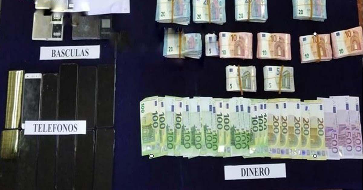 dinero drogas narcotrafico
