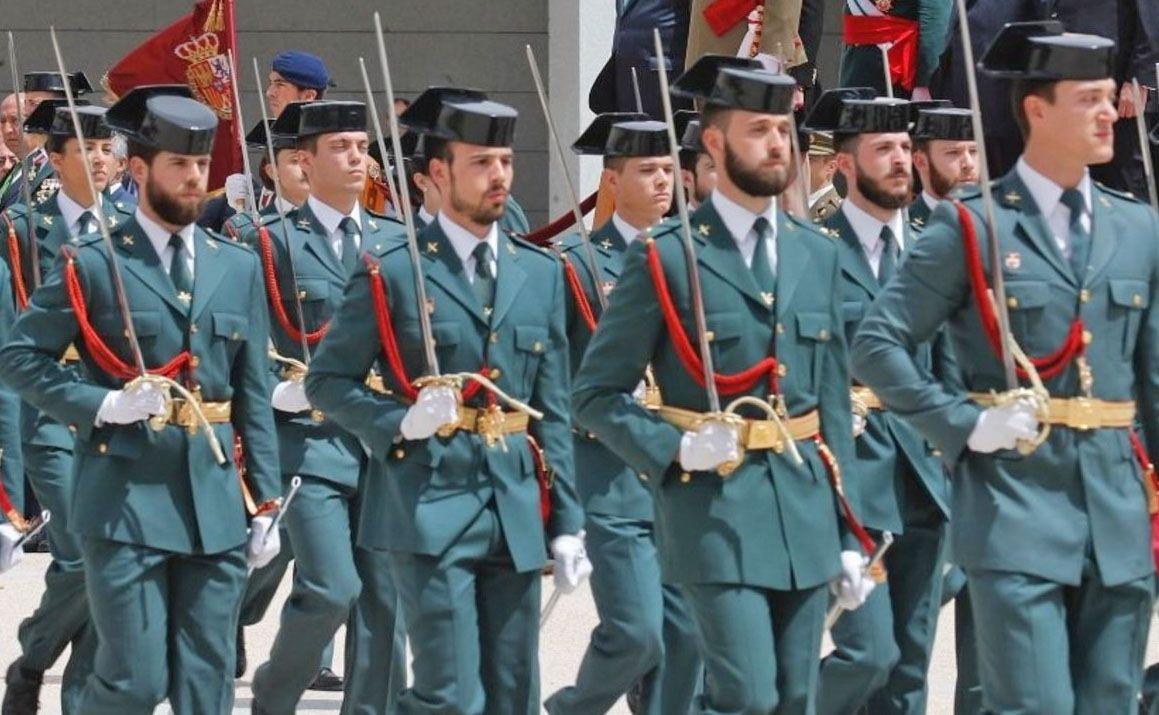 Academia militar Guardia Civil Guardias Civiles opositores aspirantes Oposición oposiciones plazas