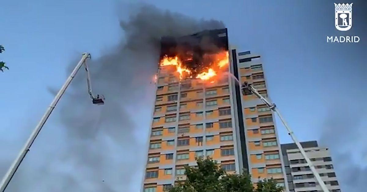 incendio madrid manoteras 20 plantas