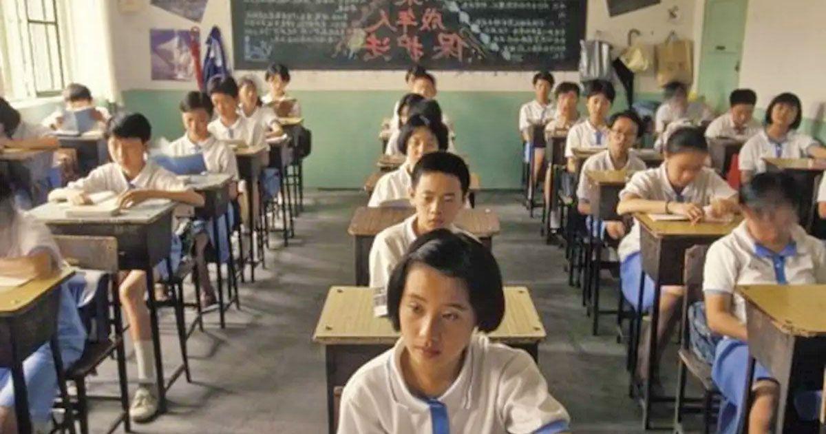 colegio china alumnos chinos wuhan sin mascarillas sin mascarilla