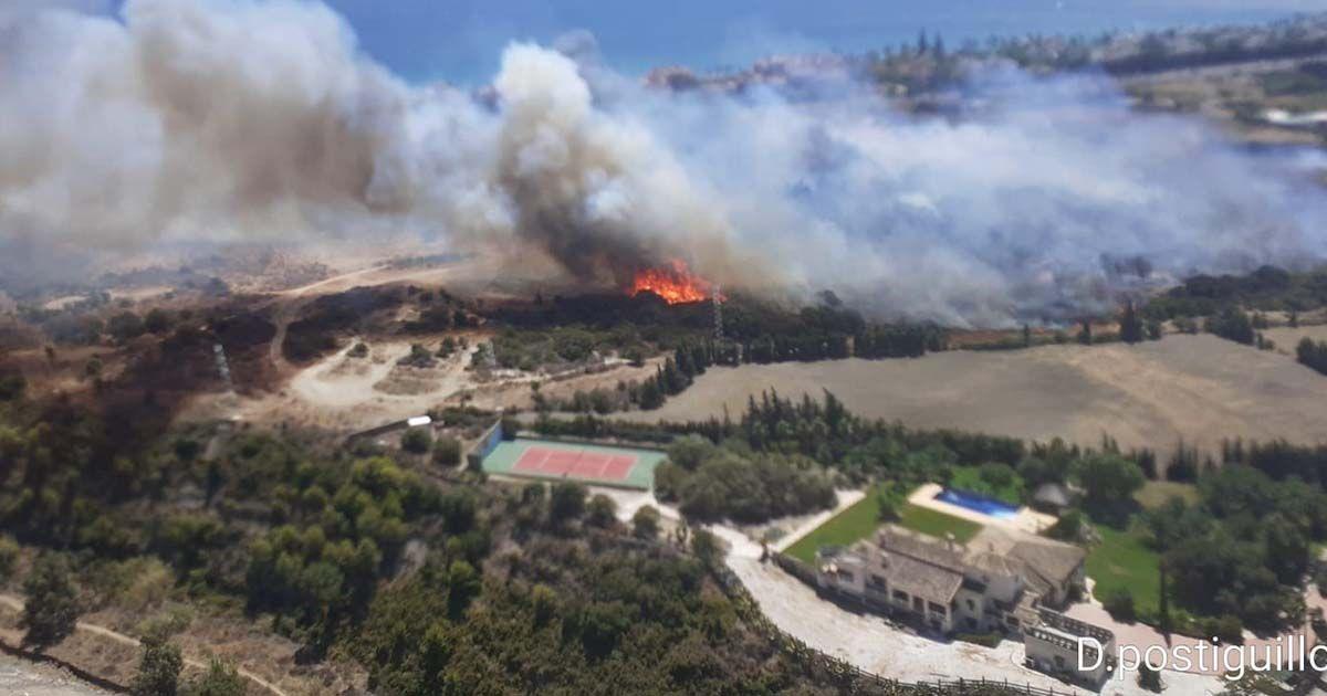 Incendio Estepona