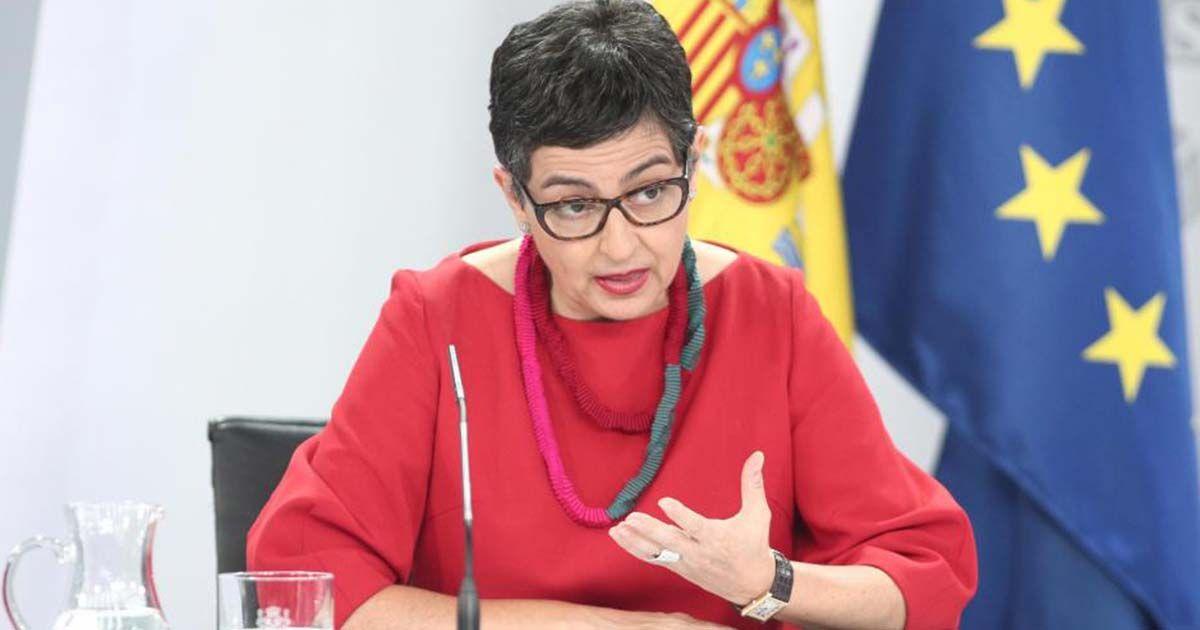 Arantxa Gonzalez ministra de exteriores
