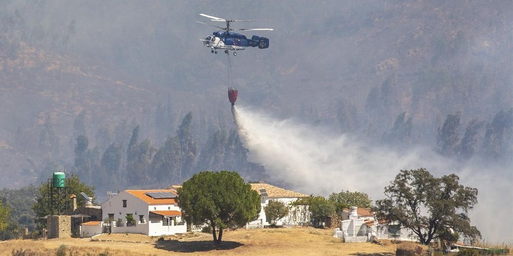 Huelva fuego amenaza