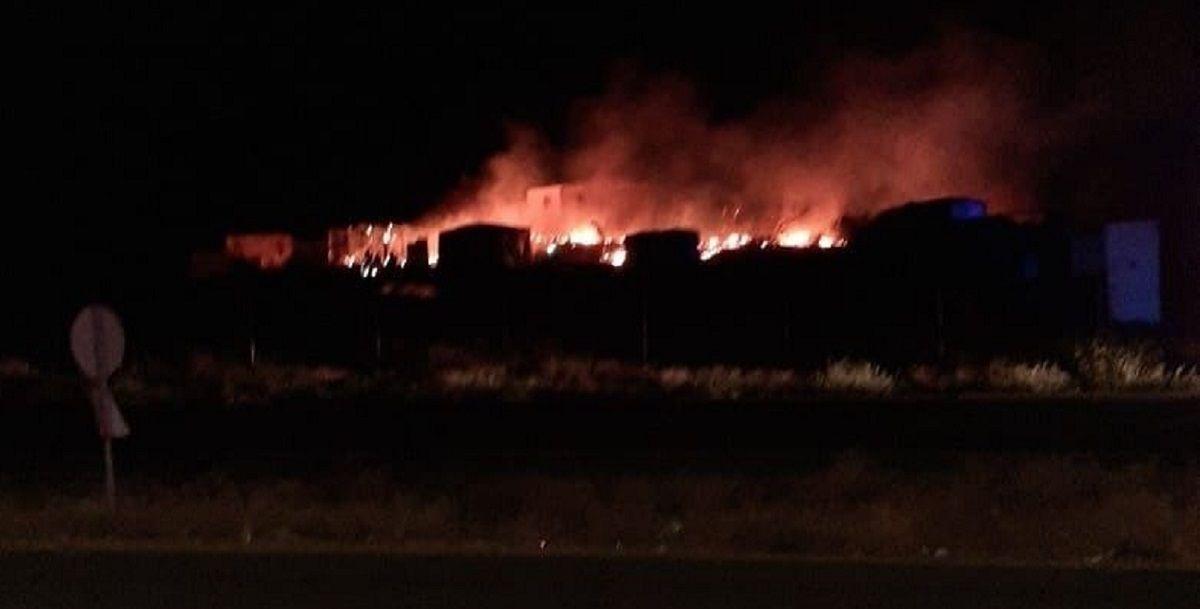 incendio chabolas Huelva