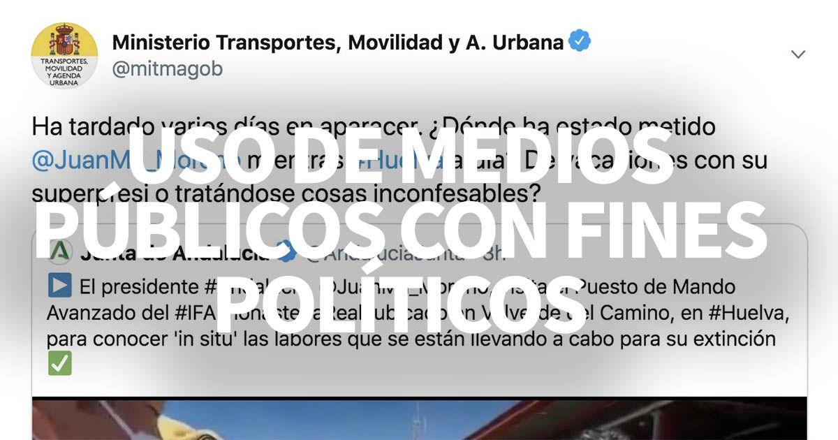 tweet ministerio transportes gobierno pedro sanchez twitter juanma moreno ministerio de trabajo