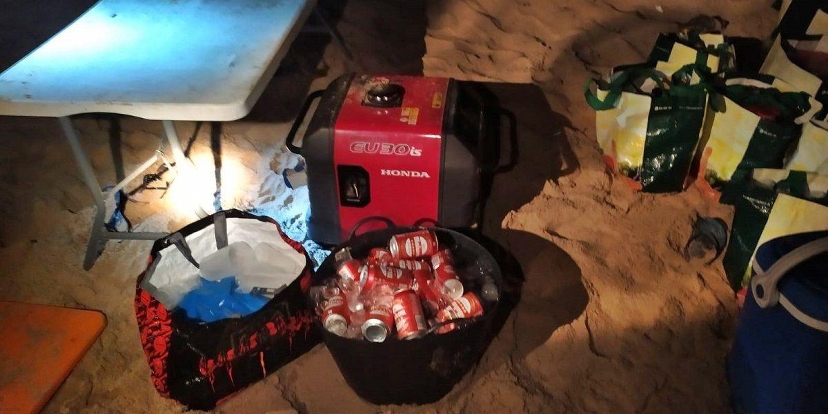 fiesta playa de Tarifa
