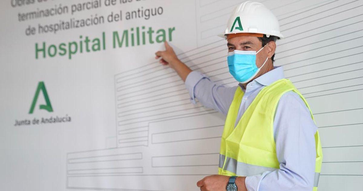 Moreno prevé que el antiguo Hospital Militar esté