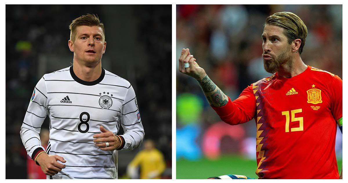 Alemania España Kroos Sergio Ramos