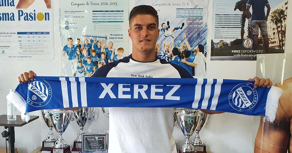 Cesar portero Xerez Deportivo FC