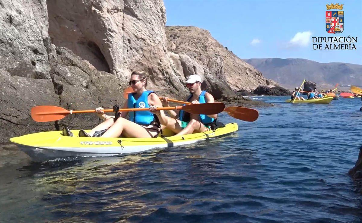kayak en almeria almería cabo de gata